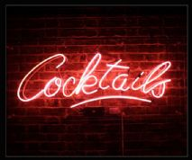 Cocktails Neon Sign 3